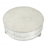 80066B - MEDIUM ROUND HAMMERED CAKE PLATEAU