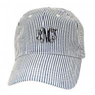 SW181353 - BLUE COTTON STRIPE CAP