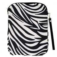 SW180623-BLACK/WHITE ZEBRA DESIGN IPAD 2 ,3 AND NEW IPAD COVER