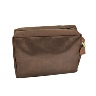 SW181227 - DARK BROWN COSMETIC BAG