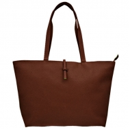 SW181229 - DARK BROWN TOTE BAG