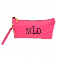 SW181286 - HOTPINK COIN  POUCH OR COSMETIC/MAKEUP BAG