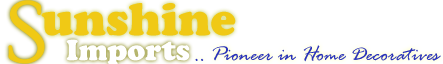 Sunshine Imports - Wholesale Distributor.. Home Decors